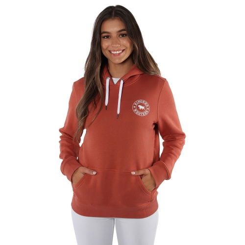 219204021-rsr_wht-signature_bull_womens_pullover_hoodie_-_rusty_rose_with_white_print-1