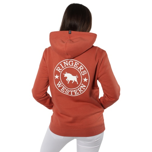 219204021-rsr_wht-signature_bull_womens_pullover_hoodie_-_rusty_rose_with_white_print-3